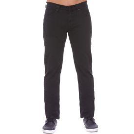 Calça Jeans Escura Marc Alain Preto Estonado