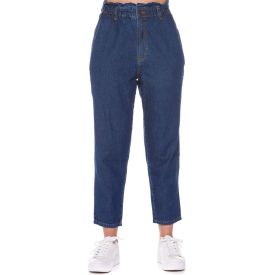 Calça Jeans Feminina Clochard Patrícia Foster Azul Medio