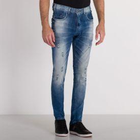 Calça Jeans Média Rock&Soda Blue Medio