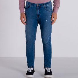 Calça Jeans Modelo Skinny Marc Alain Blue Medio