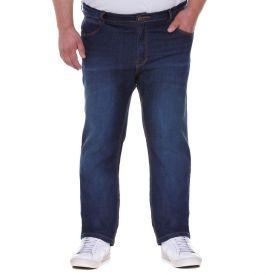 Calça Jeans Plus Size Skinny com Bigodes Blue