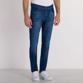 Calça Jeans Skinny Bigodes Marc Alain Blue Escuro