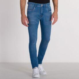 Calça Jeans Skinny Comfy Marc Alain Blue Claro