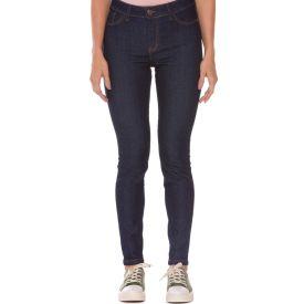 Calça Jeans Skinny Feminina Amaciada Patrícia Foster Azul Escuro