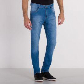 Calça Jeans Skinny Média Marc Alain Blue Escuro