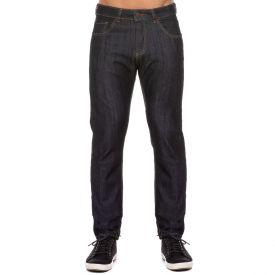 Calça Jeans Slim Amaciada com Bolso Marc Alain Blue Black