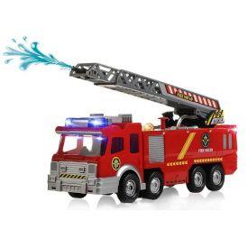 Caminhão de Bombeiro com Luz Havan - HBR0091 - Vermelho