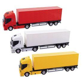 Caminhão Iveco Hi-Way Baú Usual Brinquedos - 339
