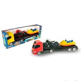 Caminhão Trans Sporte com Moto e Jet Ski Orange Toys - Sortido