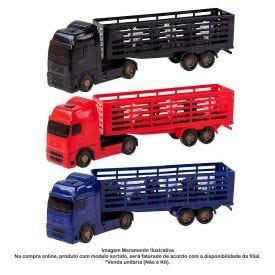 Caminhão Voyager Boiadeiro Roma Brinquedos - 1350
