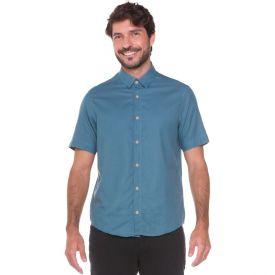 Camisa em Algodão Flame Marc Alain Verde Malva