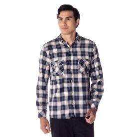 Camisa Flanela com Lapela Thing Mrnho01