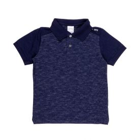 Camisa Polo de 4 a 10 Anos Mouline Alakazoo Marinho
