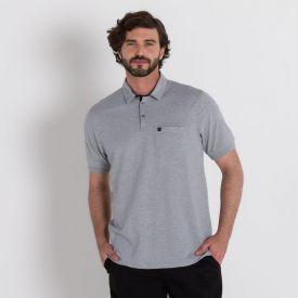 Camisa Polo Mescla Marc Alain 50 Cinza