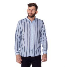 Camisa Social Linho Listra Thing