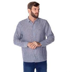 Camisa Social Linho Marc Alain