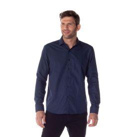 Camisa Social Micromotivos Marc Alain Mrnho/Az