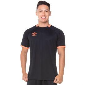 Camisa Twr Premier Umbro  Preto/Coral