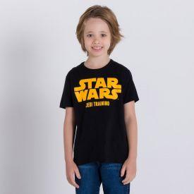 Camiseta 4 a 10 anos M/Malha Star Wars Disney