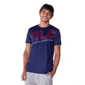 Camiseta Bar Logo Fila Marinho