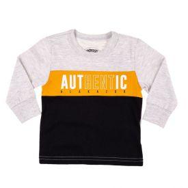Camiseta de Bebê Authentic Alakazoo Cinza