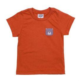 Camiseta de Bebê Menino Urso Alto Relevo Yoyo Baby Aubum