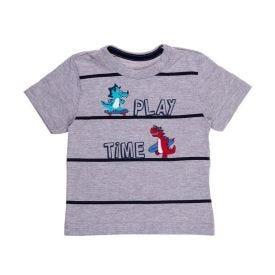 Camiseta de Bebê Play Time Alakazoo Mescla Medio