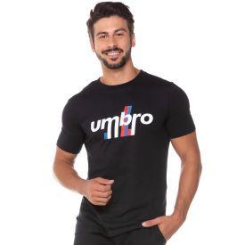 Camiseta Diamond Duo Line Umbro  Preto