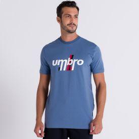 Camiseta Diamond Duo Line Umbro  Azul