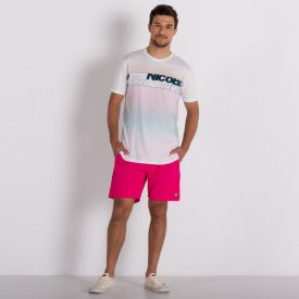 Camiseta Digital Slim Colors Nicoboco Branco