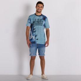 Camiseta Digital Slim Valkier Nicoboco Azul