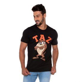 Camiseta do Taz Looney Tunes Preto