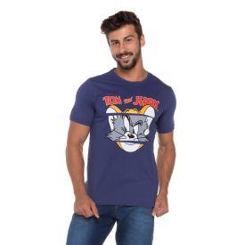 Camiseta do Tom e Jerry Warner Bros Azul Marinho