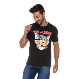 Camiseta do Tom e Jerry Warner Bros Preto