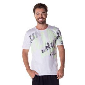 Camiseta em Malha Algodão Estampada Local Surf Branco