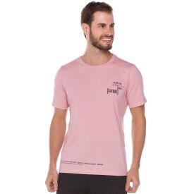 Camiseta Estampada Future Thing Rosa