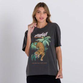 Camiseta Estonada Jungle Boby Blues Preto