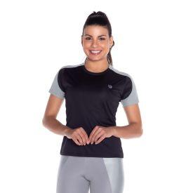 Camiseta Fitness Fall Area Preto