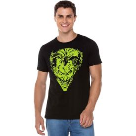 Camiseta Joker DC Comics Preto