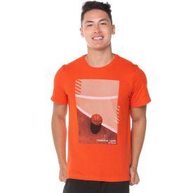 Camiseta Malha Basquete Scream Laranja
