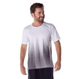 Camiseta Malha Estampada Local Surf Branco