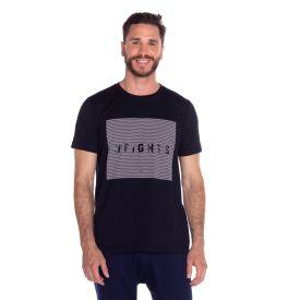 Camiseta Malha Weights Scream Preto