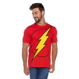 Camiseta Masculina The Flash Dc Comics Vermelho