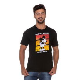 Camiseta Mickey Mouse Disney Preto
