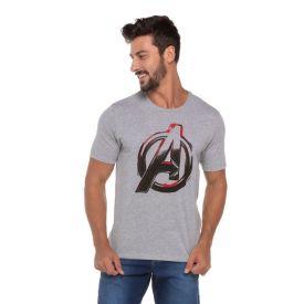 Camiseta Os Vingadores Marvel Mescla