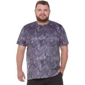 Camiseta Plus Size Full Print Scream Chumbo