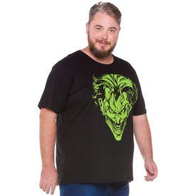 Camiseta Plus Size Joker Disney Preto
