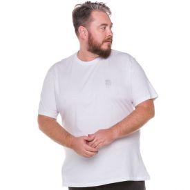 Camiseta Plus Size Minimalista Nicoboco Branco