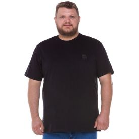 Camiseta Plus Size Minimalista Nicoboco Preto