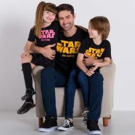 Camiseta Star Wars Jedi Master Fakini Preto